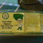 Wrapper for chocolate dipped Key Lime Bar