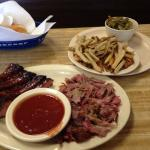 Golden Rule Barbecue - Irondale - Combo Plate