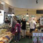 Large choice of pastries, sandwiches, and soups