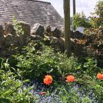 Beautiful gardens surround property