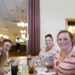 FB friends group enjoying our dinner at The Olde Dutch Restaurant