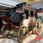 A real stagecoach