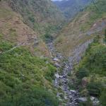 walk path to bhagsunath falls
