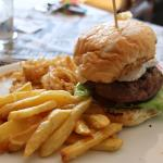 My go-to burger, The Camembert with slaps of camembert cheese and house-made marula jam. Yum!