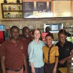 Great coffee, great service, great atmosphere - best in all of Dar!