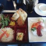 Lunch Bento Sashimi