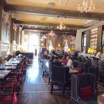Oak Long Bar