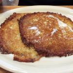 Wednesday only potato pancakes