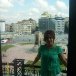 Room overlooking famous Taxim Square