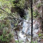 Река течет в каньоне
