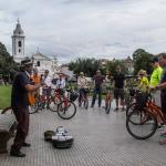 ... meeting characters and musicians in Recoleta close to the cementary