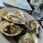 Grilled oysters, pork tacos.