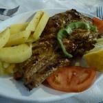 Brizola chirini (Pork chop)