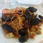 Spaghetti 🍝 allo scoglio,  che bontà!