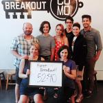 Our first BREAKOUT!