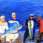 Just a few of the dorado we caught that day!