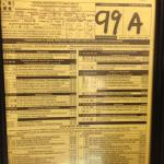 Health Dept Inspection Score