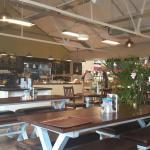 Fabulous cafe in the garden centre