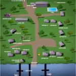 Resort map as seen on website