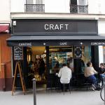Craft Café - a stone's throw from Canal Saint Martin