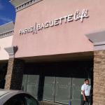Exterior of Paris Baguette Cafe in Fullerton, CA