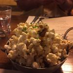 Maple bacon popcorn - a must