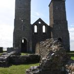 Reculver Towers and Roman Fort Foto