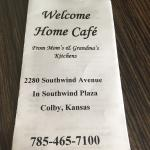Welcome Home Cafe