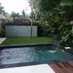 Private pool at the Sunia Pool Villa