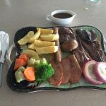English mixed grill (Php 500.00).