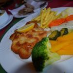Wiener Schnitzel Kalbfleisch mit Gemuse