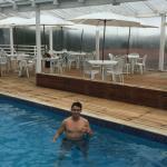 piscina aquecida otima para relaxar !