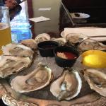 Fresh oysters and Rhode Island Clam Chowder!