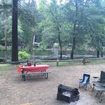 Our campsite-awesome!
