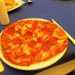 Jambon & pina pizza