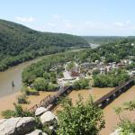 Photo from overlook viewpoint on Harper's Ferry