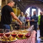 Cata de vinos y productos locales