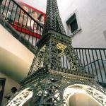 Torre Eiffel de Meccano Foto © Jordi Puig