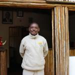 Samuel, the manager at Ziwani.