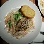 Grilled chicken pasta - tasty.