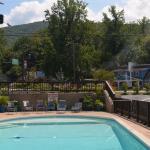 Smaller pool Brookside Resort- Creekkside