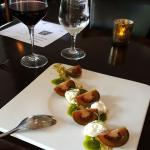 Appetizer - their take on a caprese