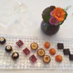 Mignardises, chocolat et bonbon Damasson maison