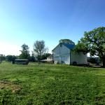 Back side of the farm