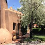 Authentic Historic Adobe Pueblo-style architecture- Inn at Pueblo Bonito Santa Fe.