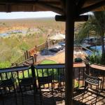 hotel bar and pool