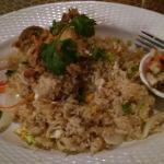 Soft shell crab fried rice. The absolute best.