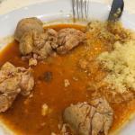 Endives avec une sauce incroyable et ris de veau / couscous