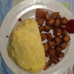 Stuffed Omlet,Breakfast at the Innlet