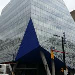 Newest student building right on Yonge Street. Ryerson University.